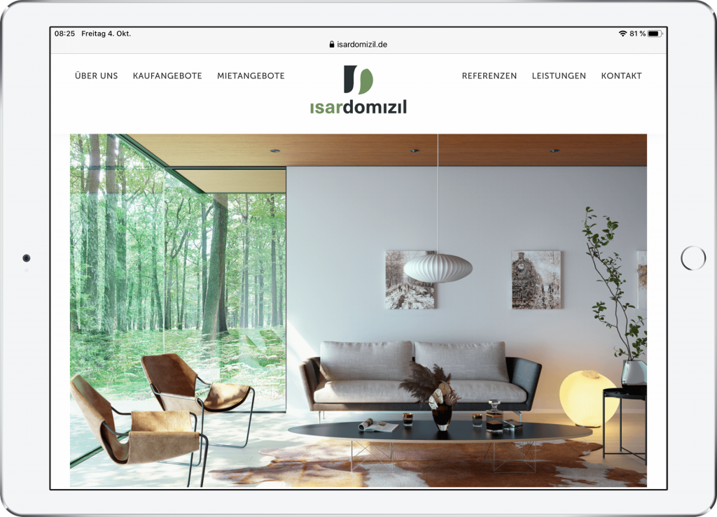 Website Isardomizil