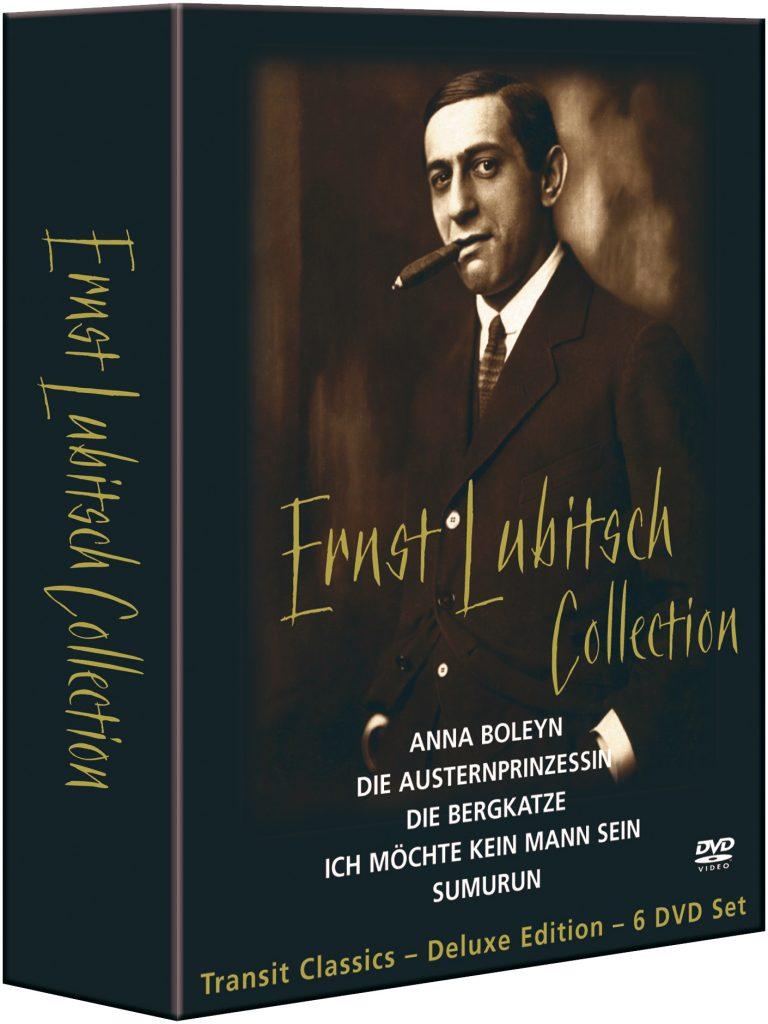 Ernst Lubitsch DVD Collection Package Design