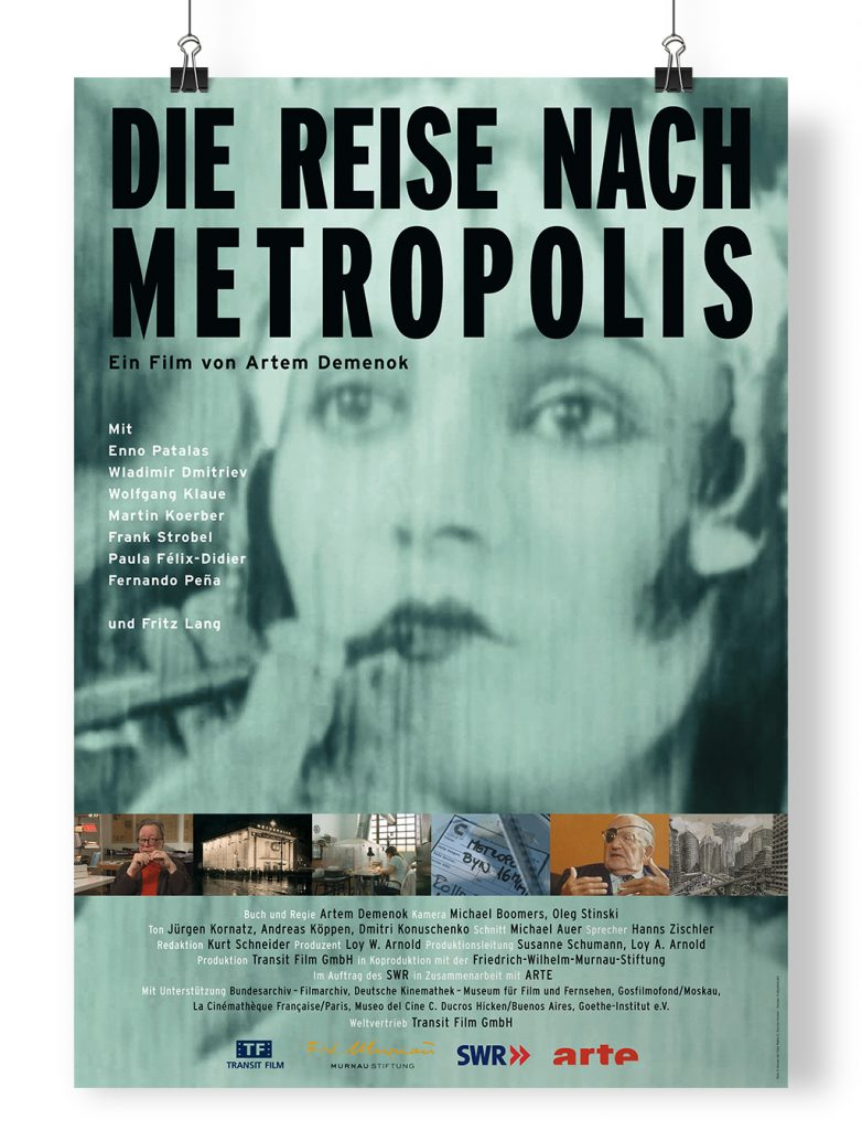 Plakat Die Reise nach Metropolis