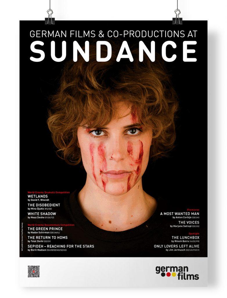 Poster German Films at Sundance