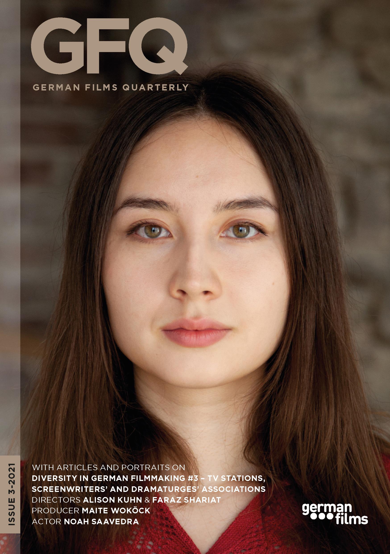 Cover German Films Quarterly 3-2021