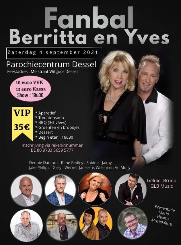 Optreden Fanbal Berritta & Yves Dessel