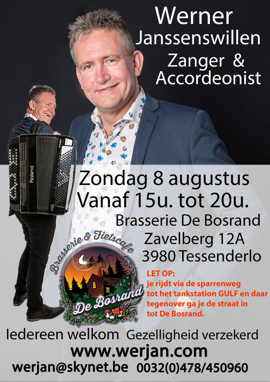Optreden Bosrand Tessenderlo