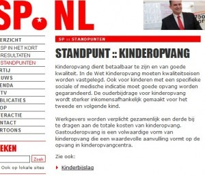 Screenshot standpunt SP per 05-09-2013