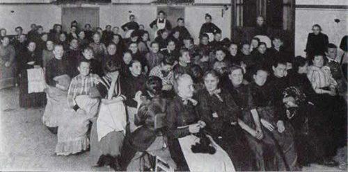 Werkhalle Wiesenburg - women's shelter