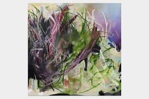 JJ 20616, oil  on canvas, 200x200cm, 2016