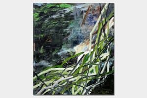 Naturwunder, oil on canvas, 170x150cm, 2017