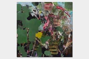 MO, oil on canvas, 200x200cm, 2017
