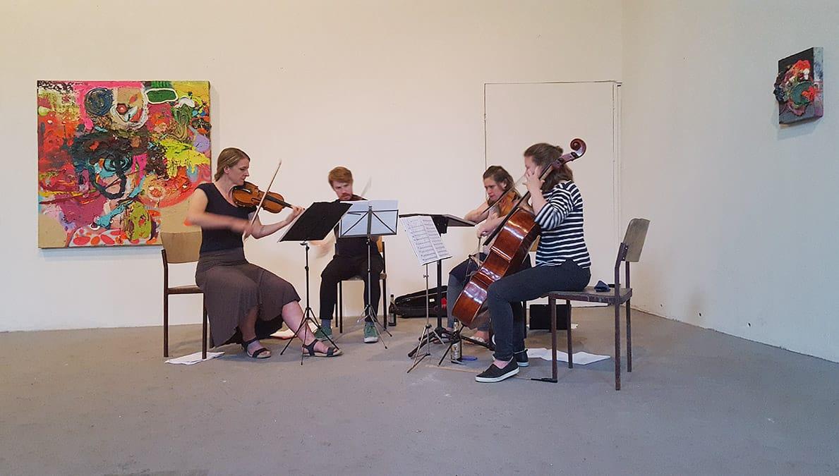 The Irresistible Wiesenburg Quartet - Classical Sunday
