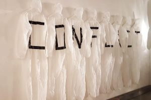 Conflict installation - Wolf Song