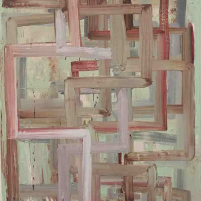 Still Untitled (Lovers), Oil paint on Linen, 150x120cm, 2019