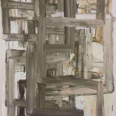 Still Untitled (Portals), oil on Canvas, 150x120cm,2019