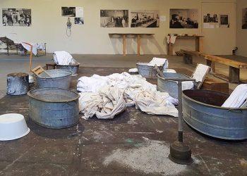 'Wash!' installation