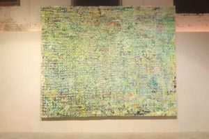 Allan Bestle Green Painting