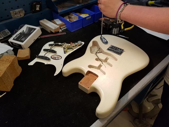 Gitarrmontering
