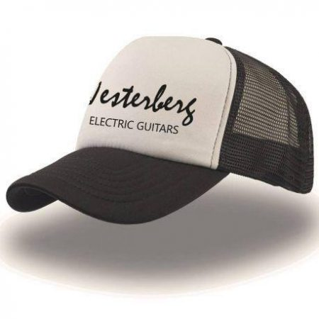 Trucker cap - black/white