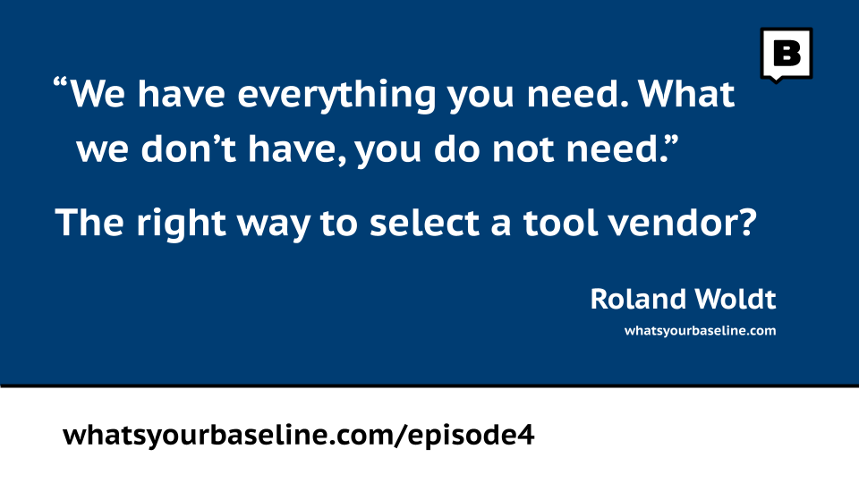 Enterprise architecture tool selection