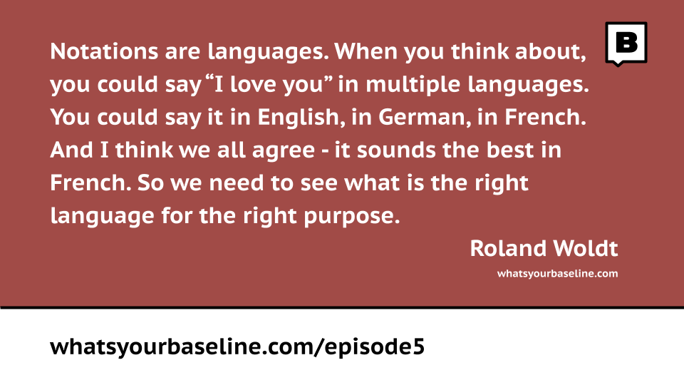 Episode 5 - Notations, notations, notations