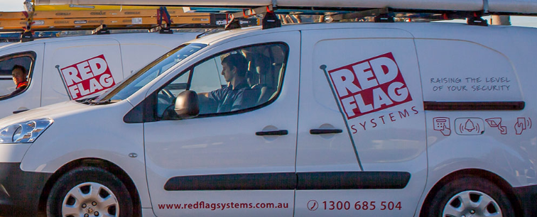 Red Flag Van