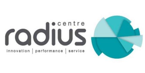 radius centre logo