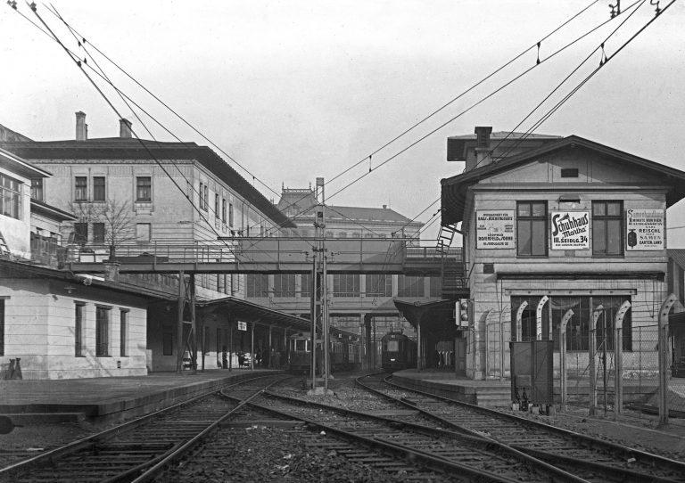 Bahnhof Hauptzollamt im Jahr 1926, Wien Mitte