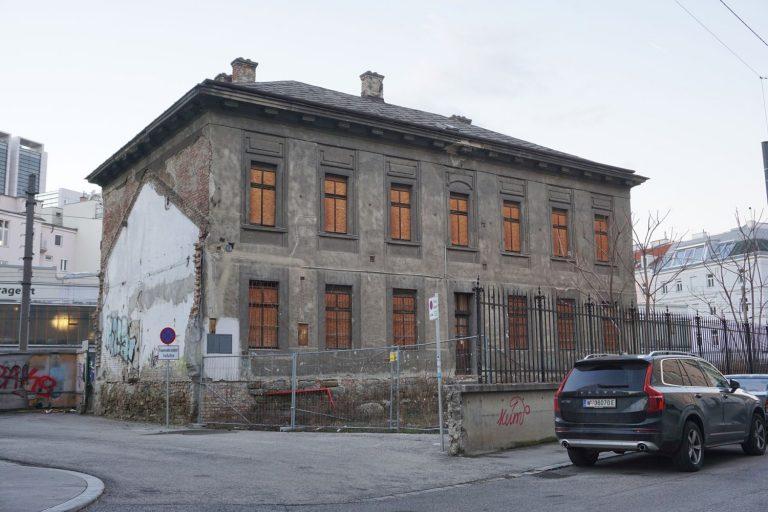 Bahnhof Hauptzollamt in Wien Mitte, Landstraße (3. Bezirk)