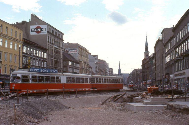 Praterstraße im Jahr 1978, Wien-Leopoldstadt