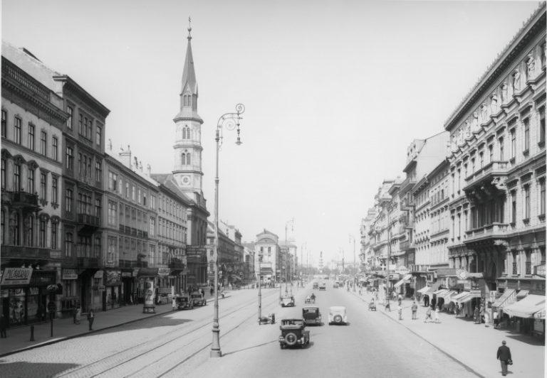 Praterstraße um 1935, Wien-Leopoldstadt
