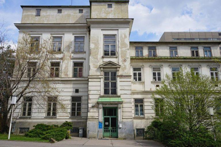 ehemalige Kinderklinik des Wiener AKH, Architekt: Emil von Förster, eröffnet 1913