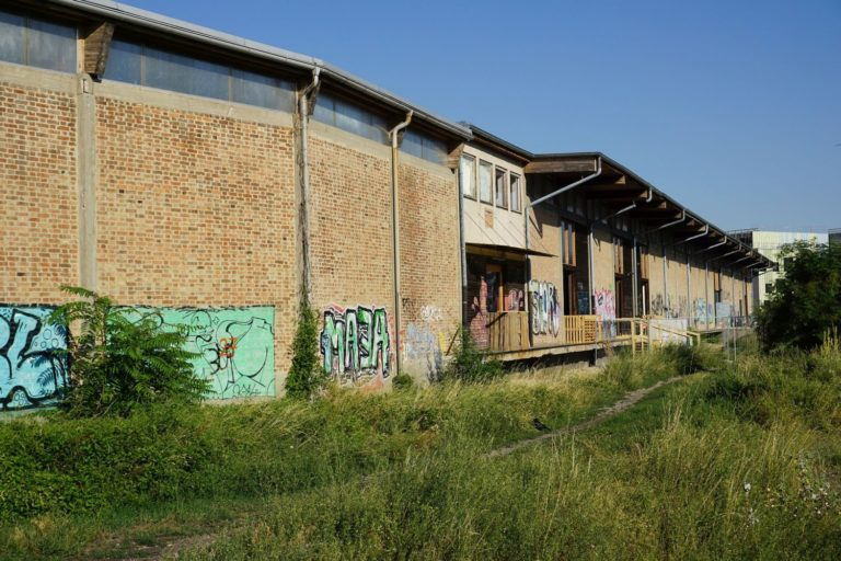 Nordbahnhalle vor dem Abriss 2019