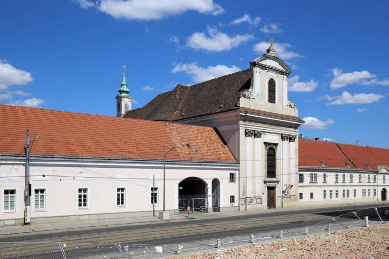 Waisenhauskirche und ehemaliges Waisenhaus, Rennweg, 1030 Wien