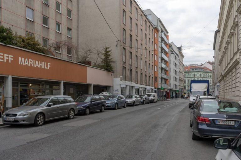 Gumpendorfer Straße Richtung Gürtel, Wien-Mariahilf