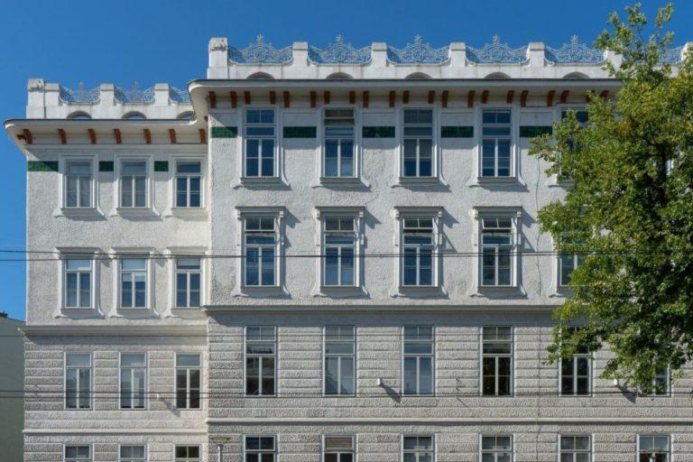 Ehemalige Frauenkliniken des Wiener AKH, Jugendstilgebäude, Spitalgasse 23