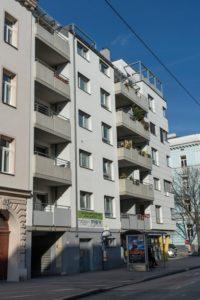 Neubau Goldschlagstraße 54 nach dem Abriss des Gründerzeithauses, 1150 Wien