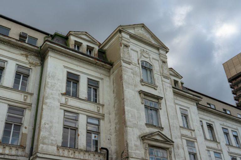 I. Medizinische Klinik, historisches Klinikgebäude des Wiener AKH, Architekt: Emil Förster, eröffnet 1913