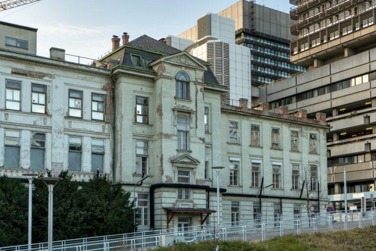 I. Medizinische Klinik und Bettentürme, AKH, Wien-Alsergrund