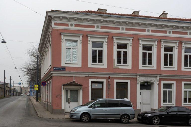 Gründerzeithaus in der Lehnergasse 14/Avedikstraße, 15. Bezirk, Wien