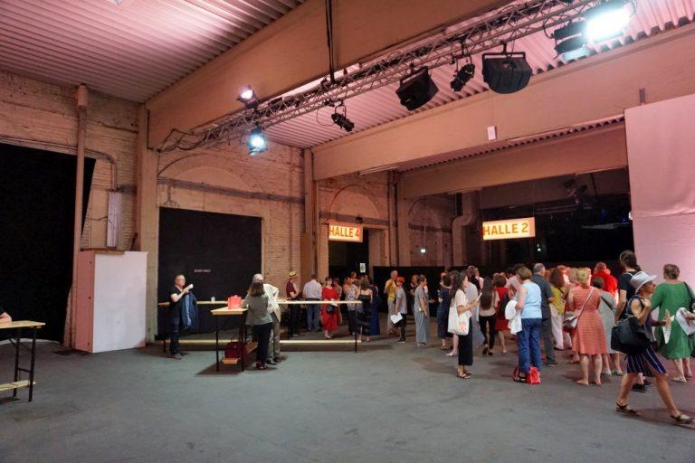 Gösserhalle während der Wiener Festwochen 2019, Wien-Favoriten
