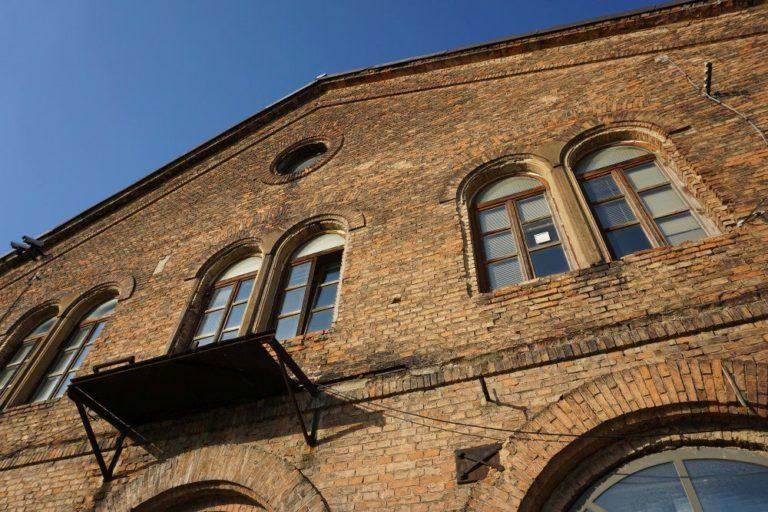 Historische Inventarhalle, Backstein-Architektur, Wien-Favoriten