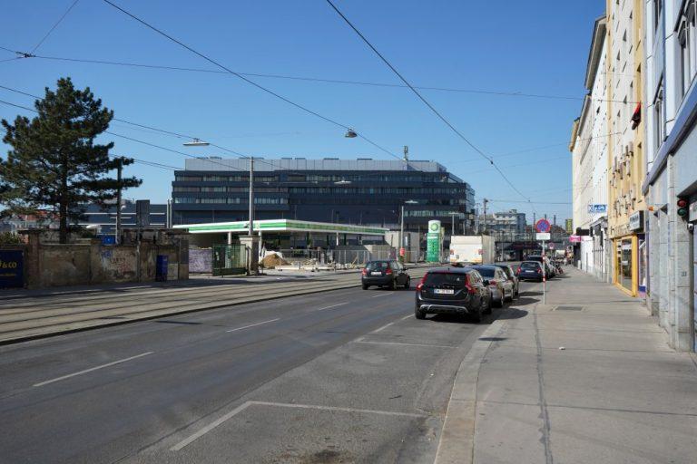 Laxenburger Straße in Wien-Favoriten