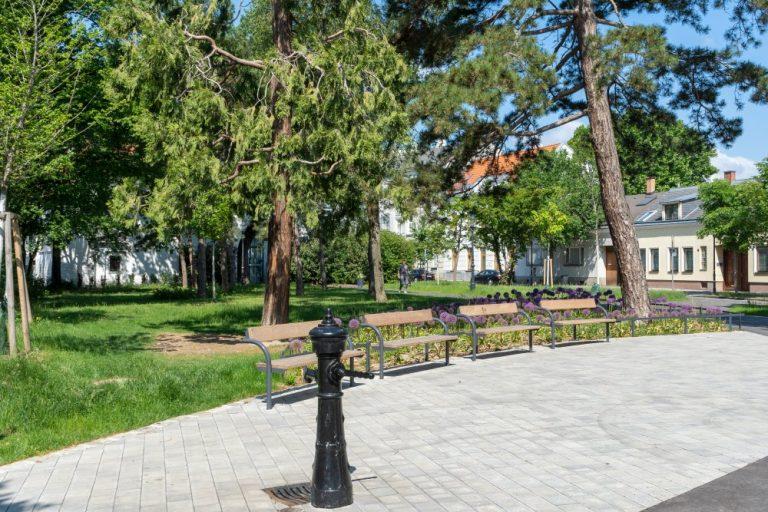 Karl-Seidl-Park am Leopoldauer Platz in Wien-Floridsdorf
