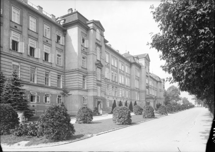 AKH, I. Medizinische Klinik, historische Aufnahme