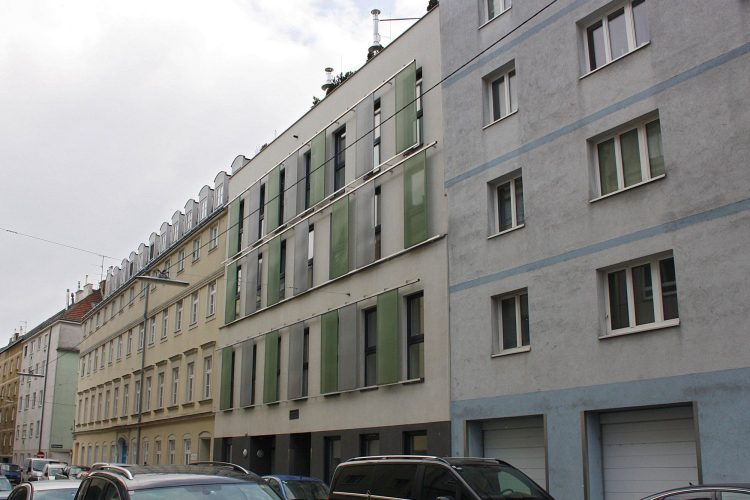Gebäude in der Abelegasse in Wien-Ottakring