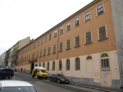 Bösendorfer-Fabrik in der Graf-Starhemberg-Gasse, Wien-Wieden