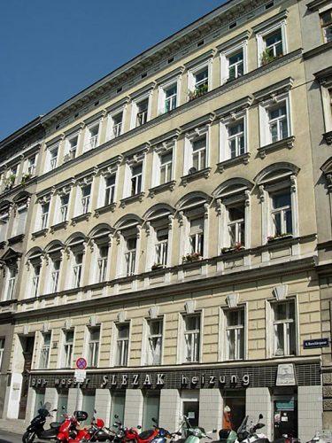 Abriss 2014: Borschkegasse 14 (9. Bezirk, Foto: MA19/Stadt Wien)