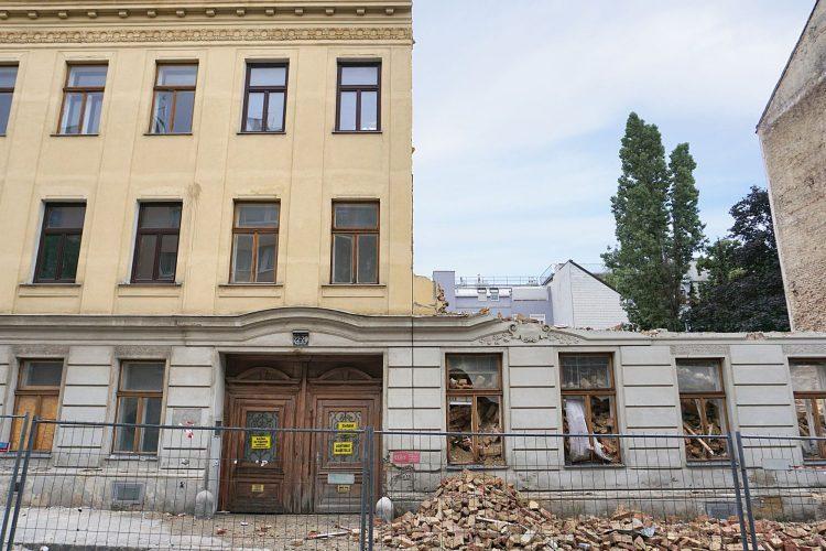 Jugendstilhaus Heigerleinstraße 20-22 wird abgerissen, 1160 Wien