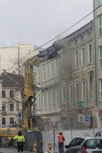 Hofmühlgasse 6 wird abgerissen, 1060 Wien