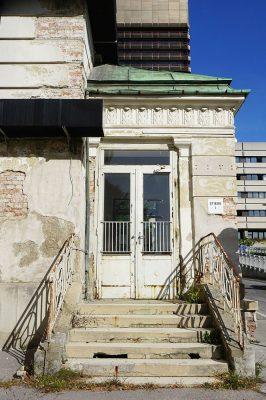 I. Medizinische Klinik, AKH, Wien-Alsergrund, Architekt: Emil Förster, erbaut 1909-19013