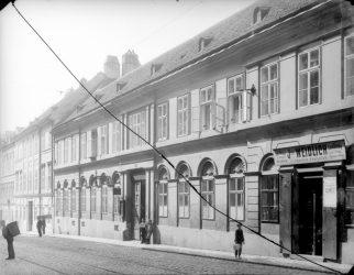historische Aufnahme des Gebäudes Kaiserstraße 31
