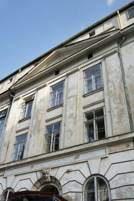 ehemalige AKH-Kinderklinik, Architekt: Emil Förster, Wien-Alsergrund